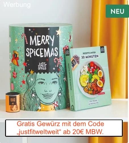 Just Spices Adventskalender kaufen Gutschein Code 2021