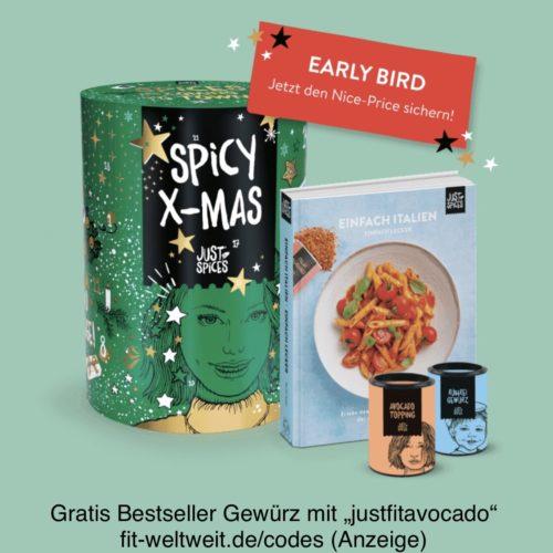 Just Spices Adventskalender kaufen Gutschein Code