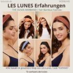 LES LUNES Erfahrungen Bewertung The Olivia Hairband