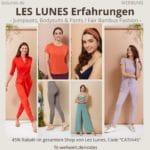 LES LUNES Erfahrungen Bewertung fair Bambus Fashion Test, Jumpsuits, Bodysuits, Pants