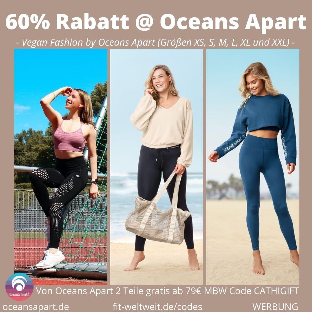 OCEANS APART CODE 60% Rabatt 2 free Gifts Gutscheincode 2020