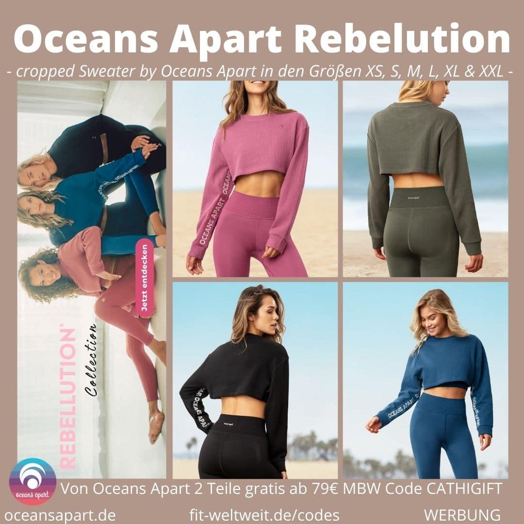 Oceans Apart Kayla Zoe Sydney Madison cropped Sweater Besonderheiten