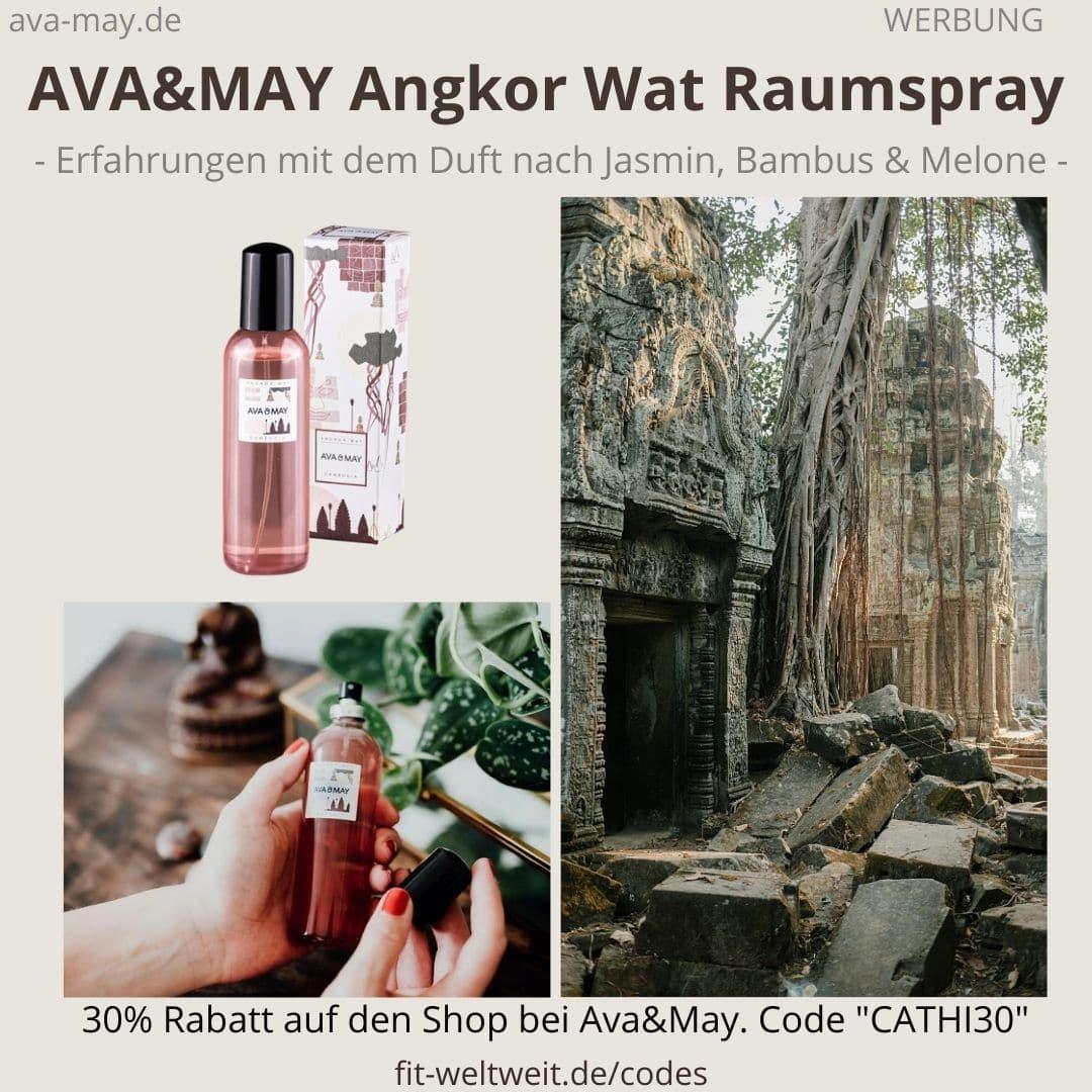 Raumspray Angkor Wat Cambodia Erfahrungen Ava and May Ava&May Bewertung Duftnoten