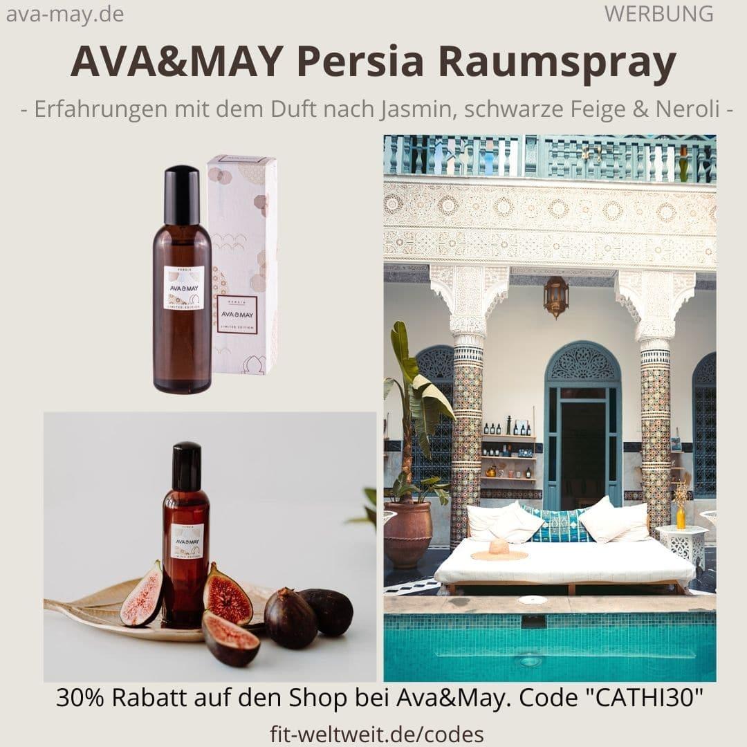 Raumspray Persia Erfahrungen Ava and May Ava&May Bewertung Duftnoten