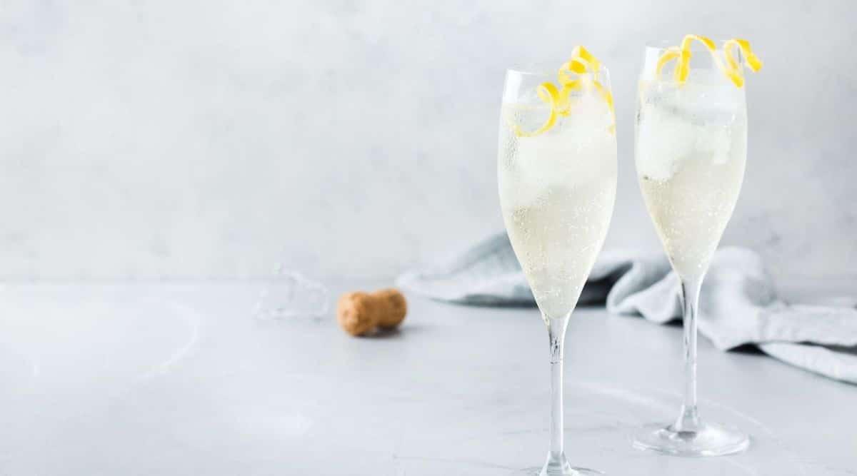 FRENCH 75 - ALKOHOLFREIER CHAMPAGNER-COCKTAIL MIT LAORI