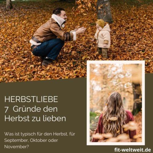 HERBSTLIEBE 7 Gründe den Herbst zu lieben
