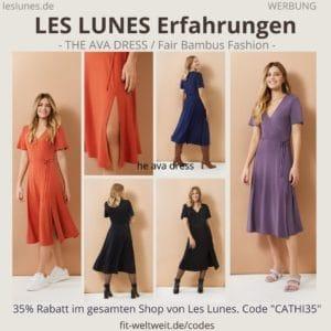 LES LUNES Erfahrungen Bewertung The AVA DRESS Kleid