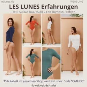 LES LUNES Erfahrungen Bewertung The Alena Bodysuit Body