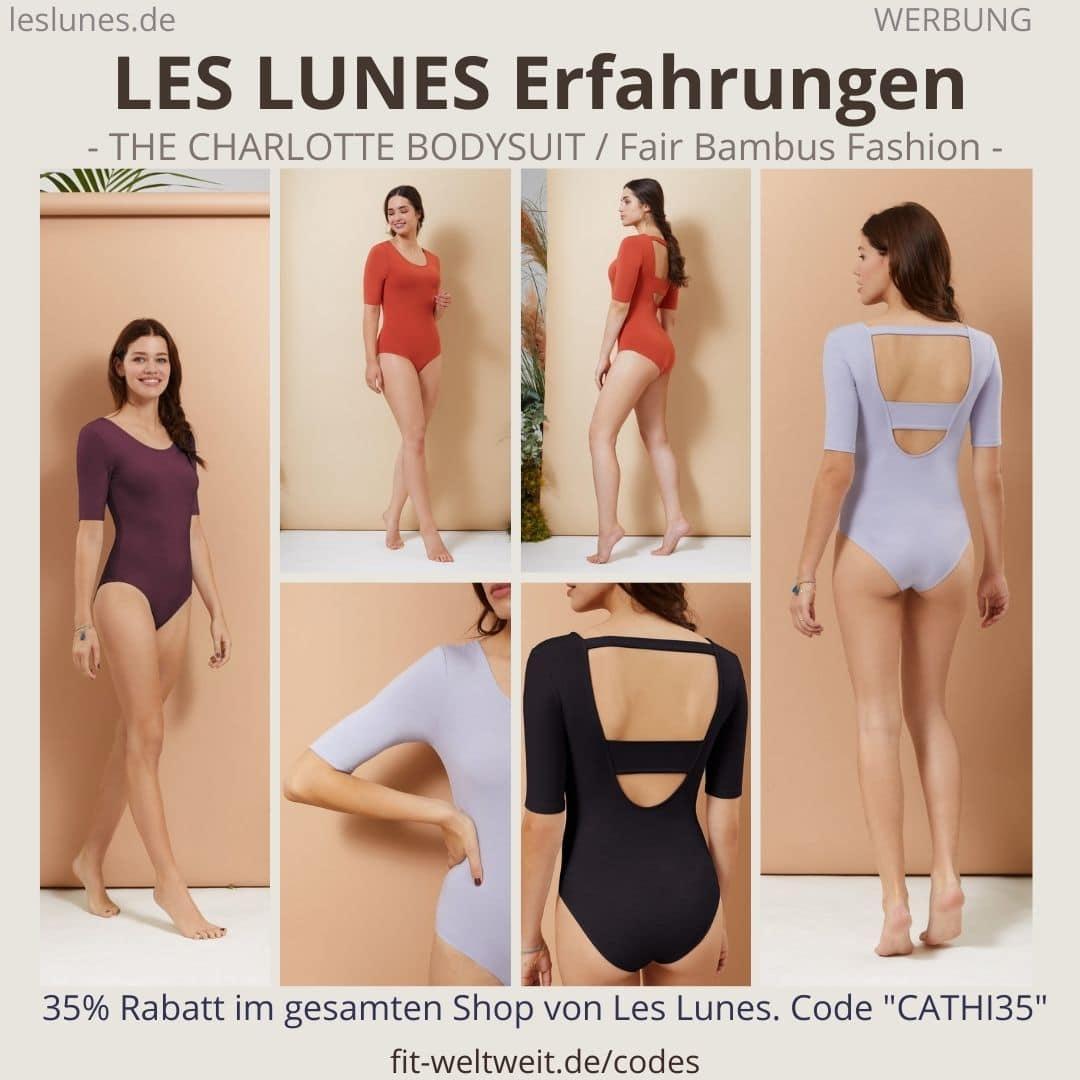 LES LUNES Erfahrungen Bewertung The Charlotte Bodysuit Body