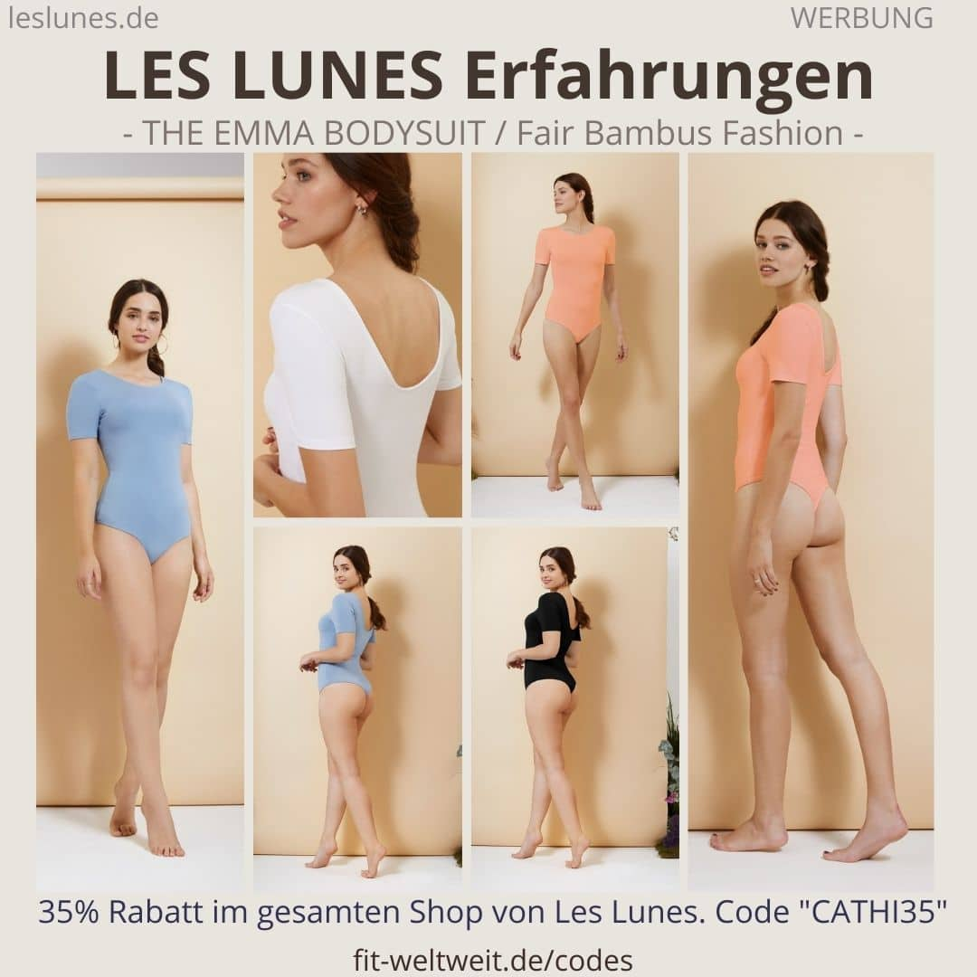 LES LUNES Erfahrungen Bewertung The Emma Bodysuit Body