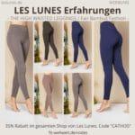 LES LUNES Erfahrungen Bewertung The High Waisted Leggings Pants