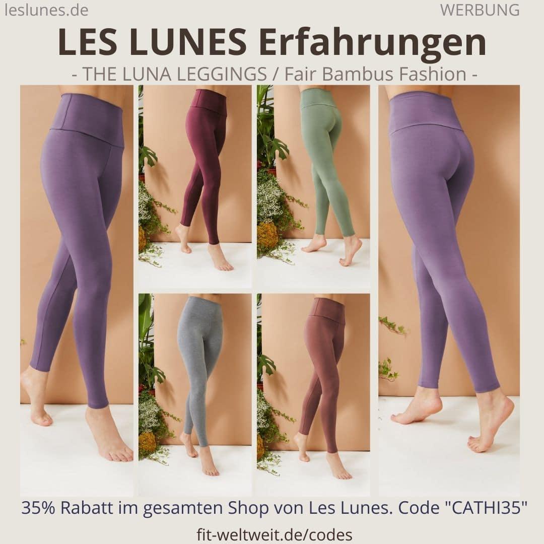 LES LUNES Erfahrungen Bewertung The LUNA Leggings Größe Pants