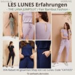 LES LUNES Erfahrungen Bewertung The Lana Jumpsuit Einteiler