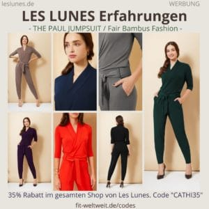 LES LUNES Erfahrungen Bewertung The Paul Jumpsuit Einteiler