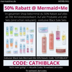 Mermaid and Me Code 50% Rabatt Gutschein November Black Week