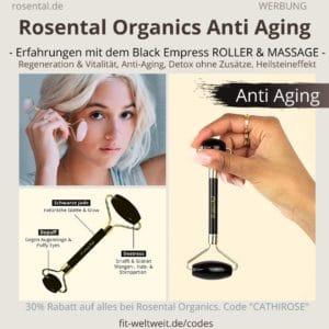 Rosental Organics Anti Aging Black Empress Erfahrungen Onyx Beauty Roller Massage