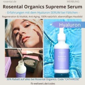 Rosental Organics Surpreme Serum Erfahrungen Hyaluron