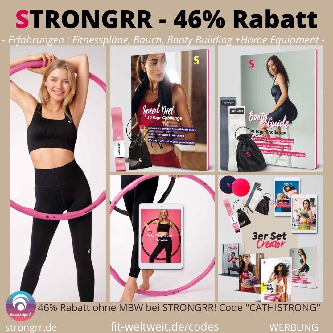 STRONGRR Fitnesspläne Rabatt Rabattcode Gutschein Code 2020 2021