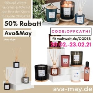 50% RABATT AVA MAY CODE Winter Specials Februar 2021