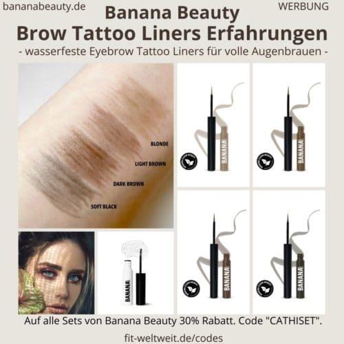 Banana Beauty Brow Liners Erfahrungen Augenbrauen färben