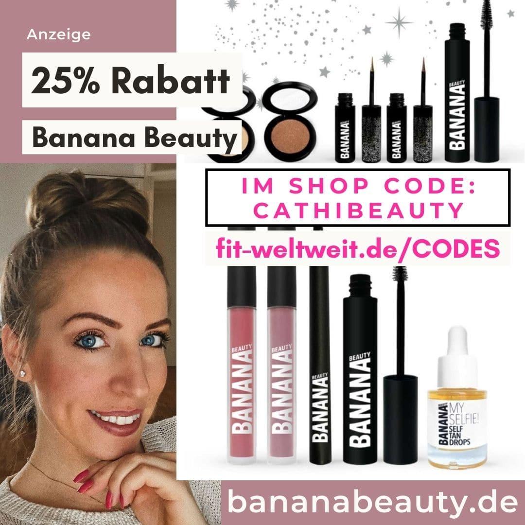 Banana Beauty Code 2021 Gutschein 25% Rabatt Shop Sets 40%