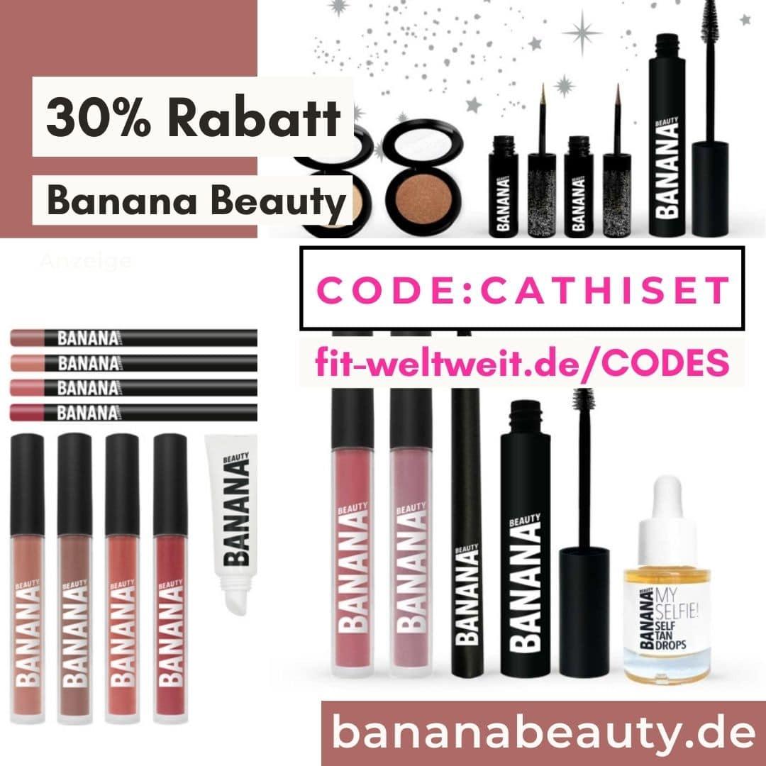 Banana Beauty Code 2021 Gutschein 30% Rabatt auf alle Sets 50%
