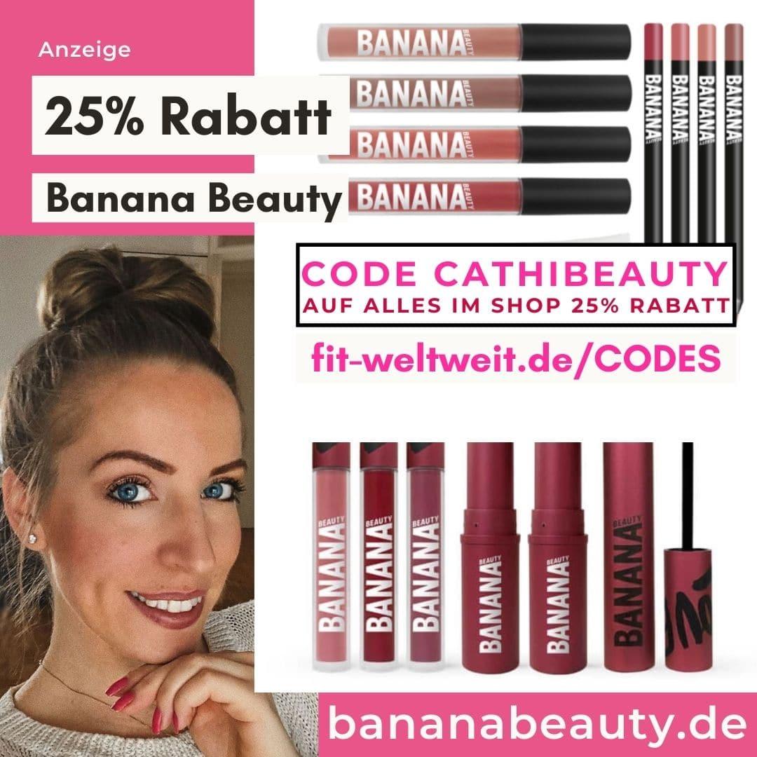 Banana Beauty Code Rabatt auf alles 25% Gutschien 35% bis 40% auf Sets Februar 2021