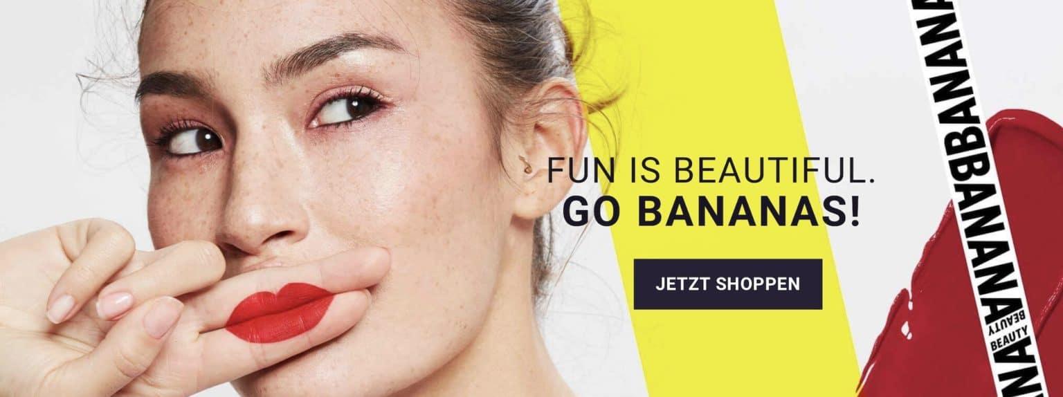 Erfahrungen Banana Beauty Produkte günstig kaufen Liquid Lipsticks Lipliner