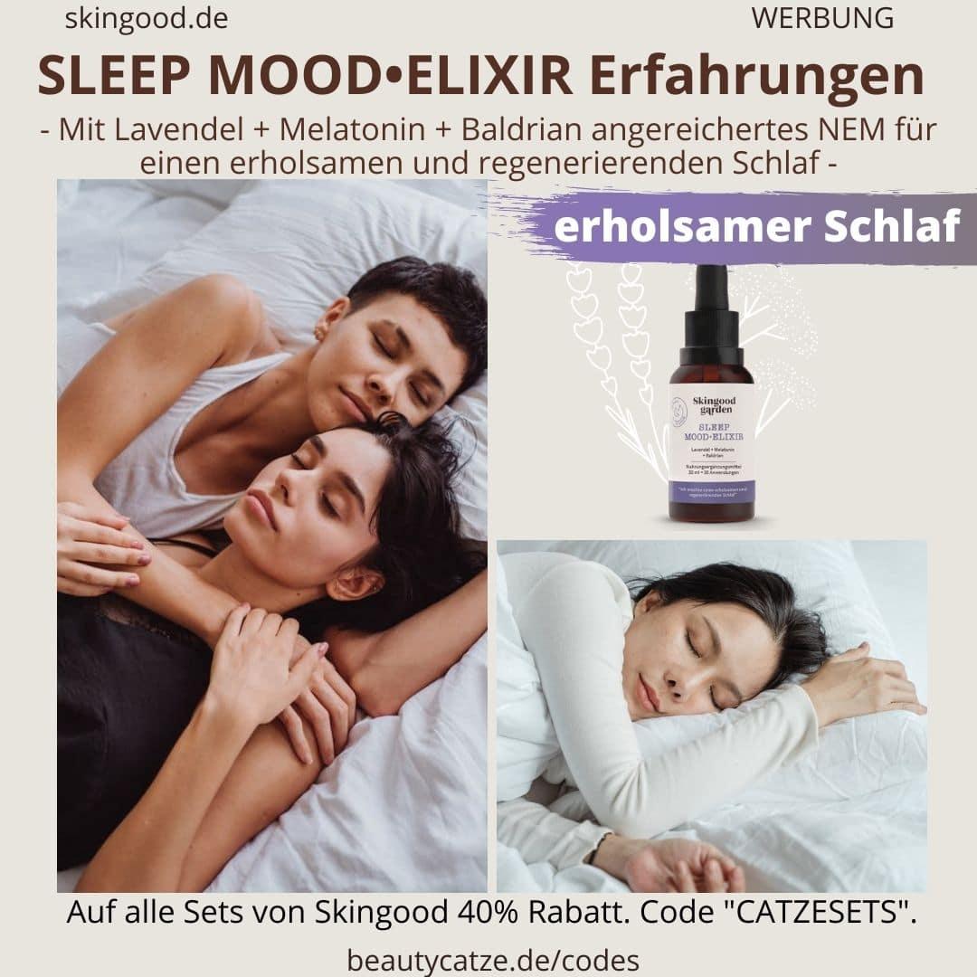Erfahrungen Skingood Garden Erfahrungen SLEEP MOOD Elixir Elixier Tropfen Test Nahrungsergänzungsmittel