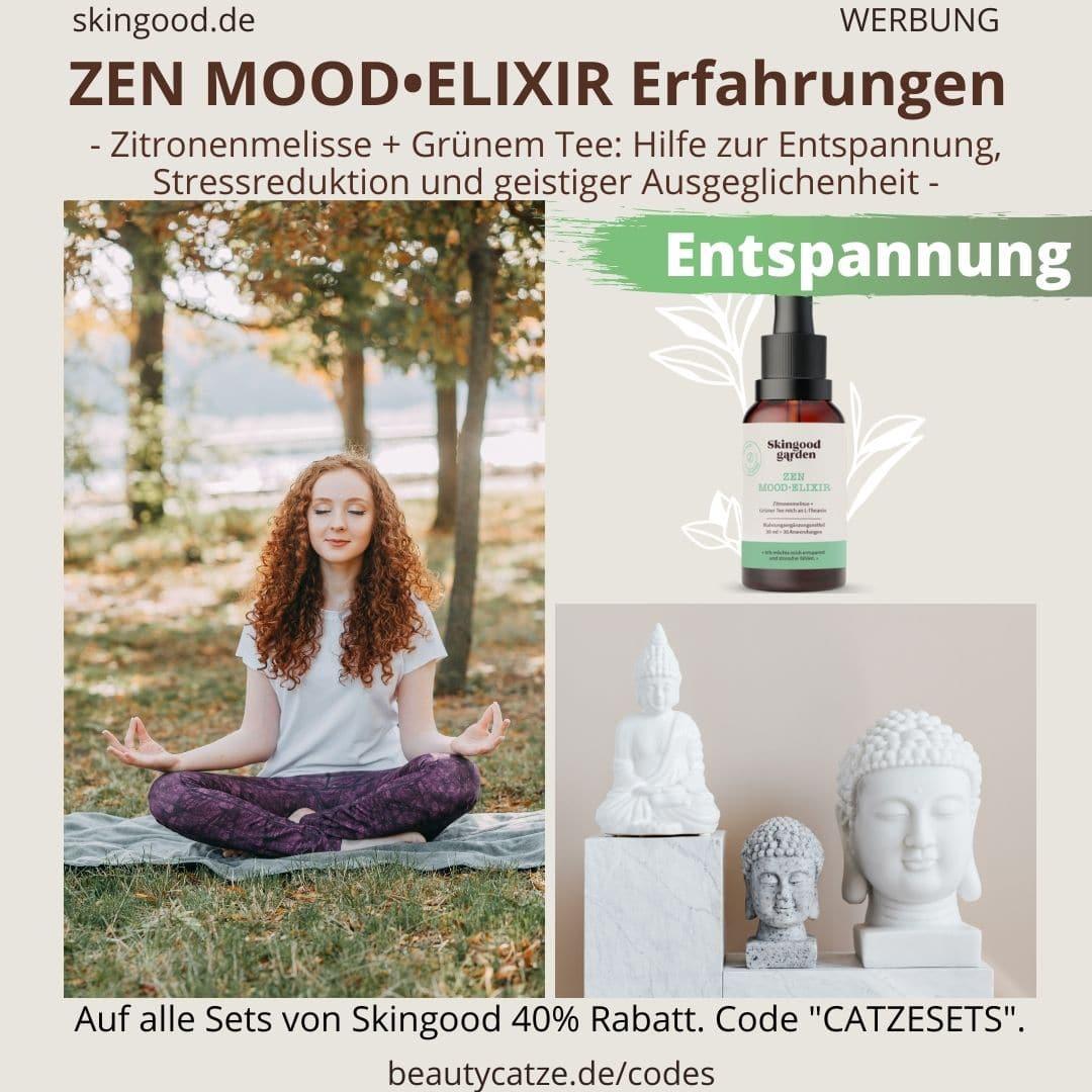 Erfahrungen Skingood Garden Erfahrungen ZEN MOOD ELIXIR Serum Tropfen Test Nahrungsergänzungsmittel