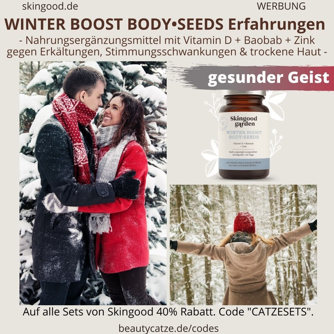 Erfahrungen WINTER BOOST Body Seeds Skingood Garden Erfahrungen gesunden Körper Geist Winter