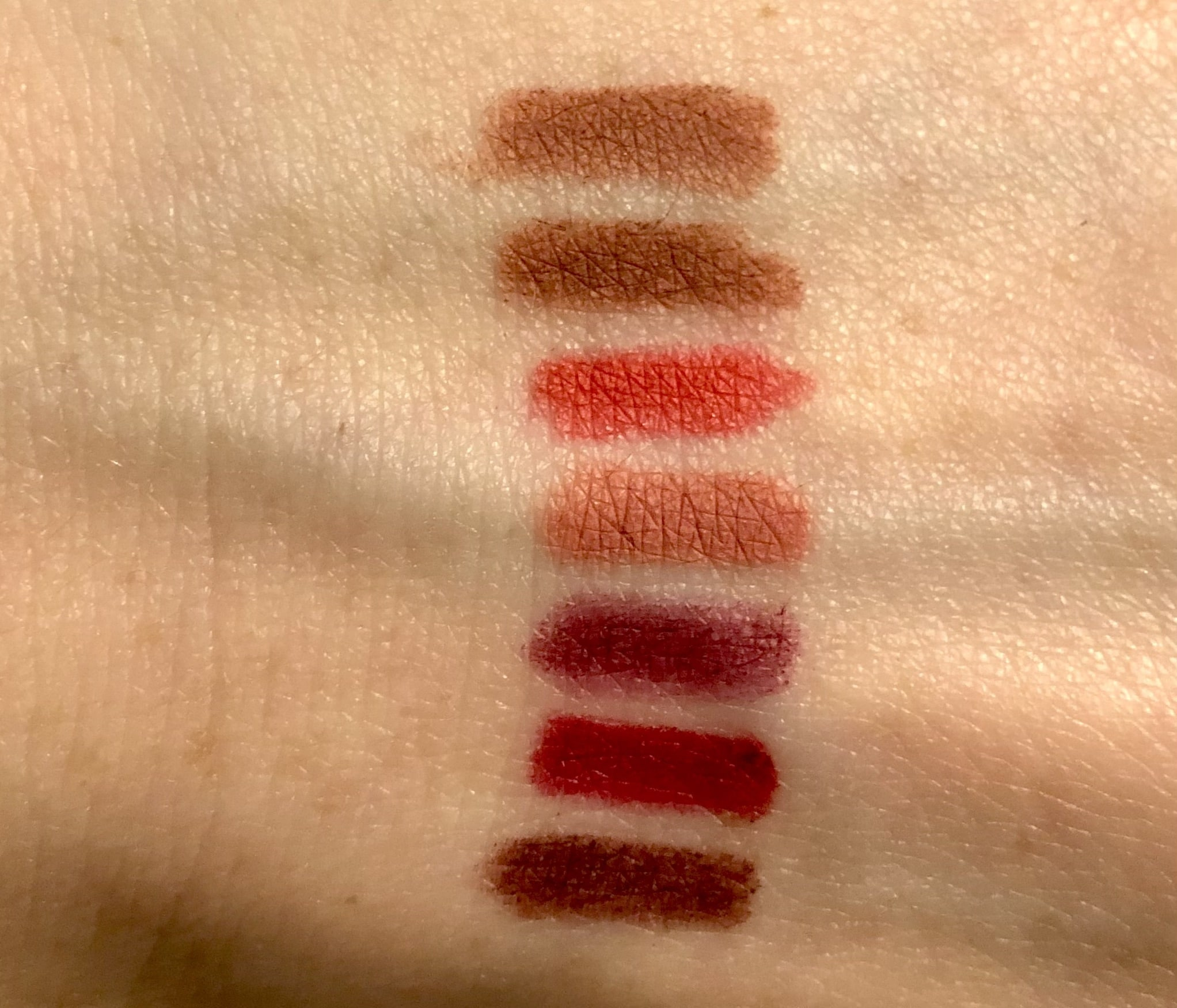 Farben Banana Beauty Swatches Lip Liner Lippenkontourenstifte