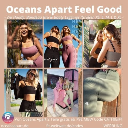 Feel Good Collection by OCEANS APART Lesley Trixy Lilith Emily Set