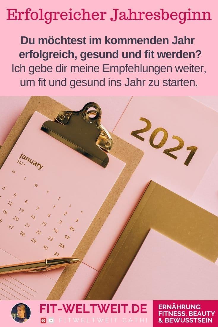 Fit ins neue Jahr-Empfehlungen: Nutze den Jahresbeginn (1. Quartal)