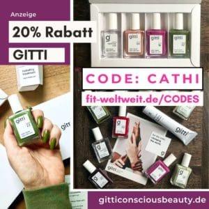 GITTI CODE Rabattcode Gutscheincode 2021 20% Rabatt im Shop oder 25% Rabatt auf Sets