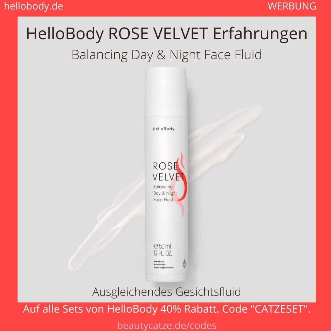 Hello Body ROSE VELVET Erfahrungen Day Night Creme Tagescreme Nachtcreme Anwendung Bewertung