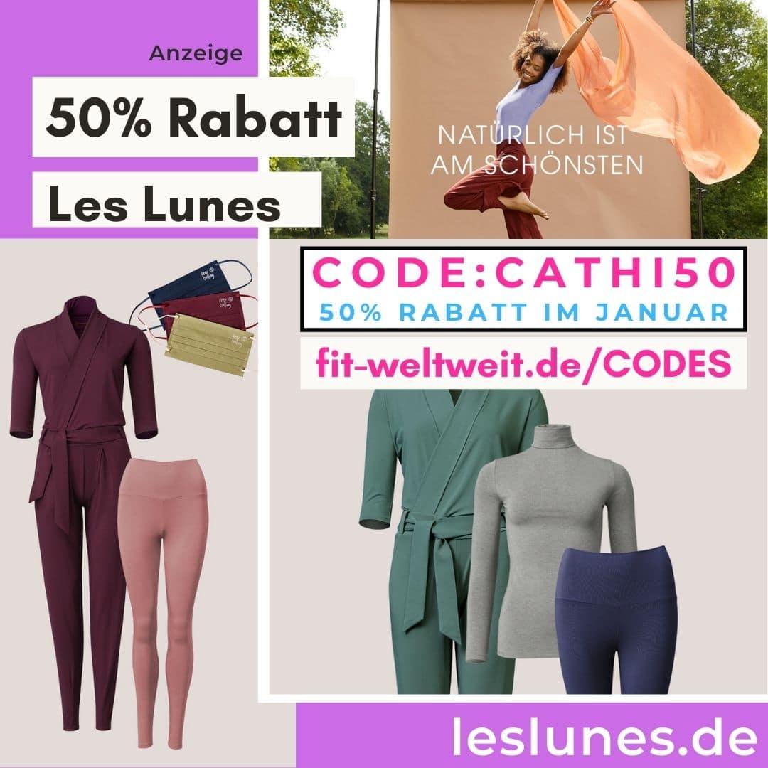 Les Lunes Januar 2021 50% Rabattcode Gutscheincode 60% auf Sets Rabatt 40%