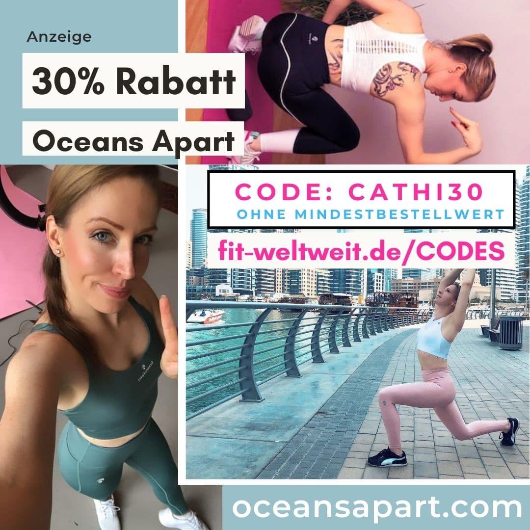 Oceans Apart Code 30% Rabatt Gutschein 2021 Cathi30