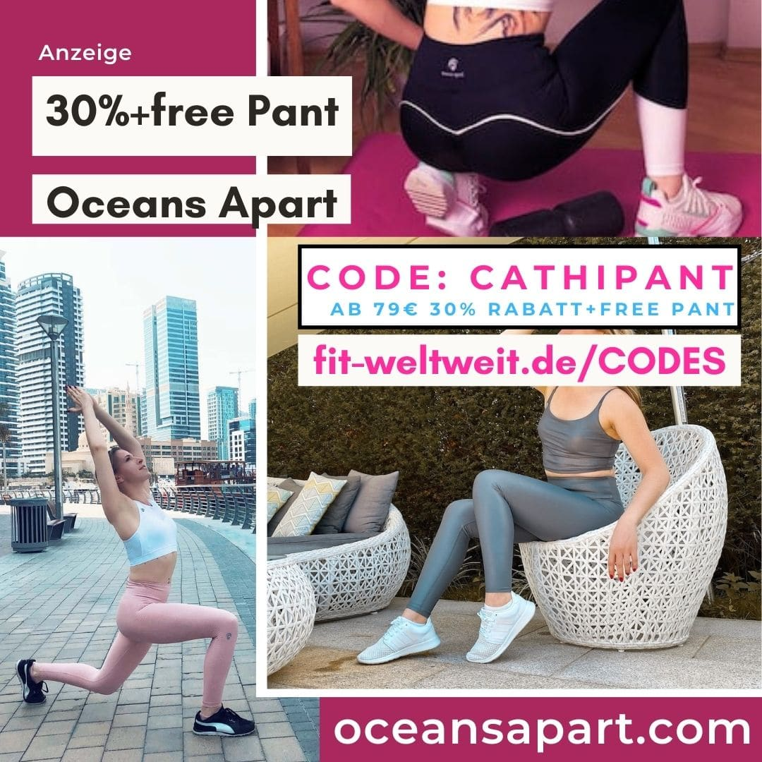 Oceans Apart Code 30% Rabatt free Pant gratis Leggings 2021