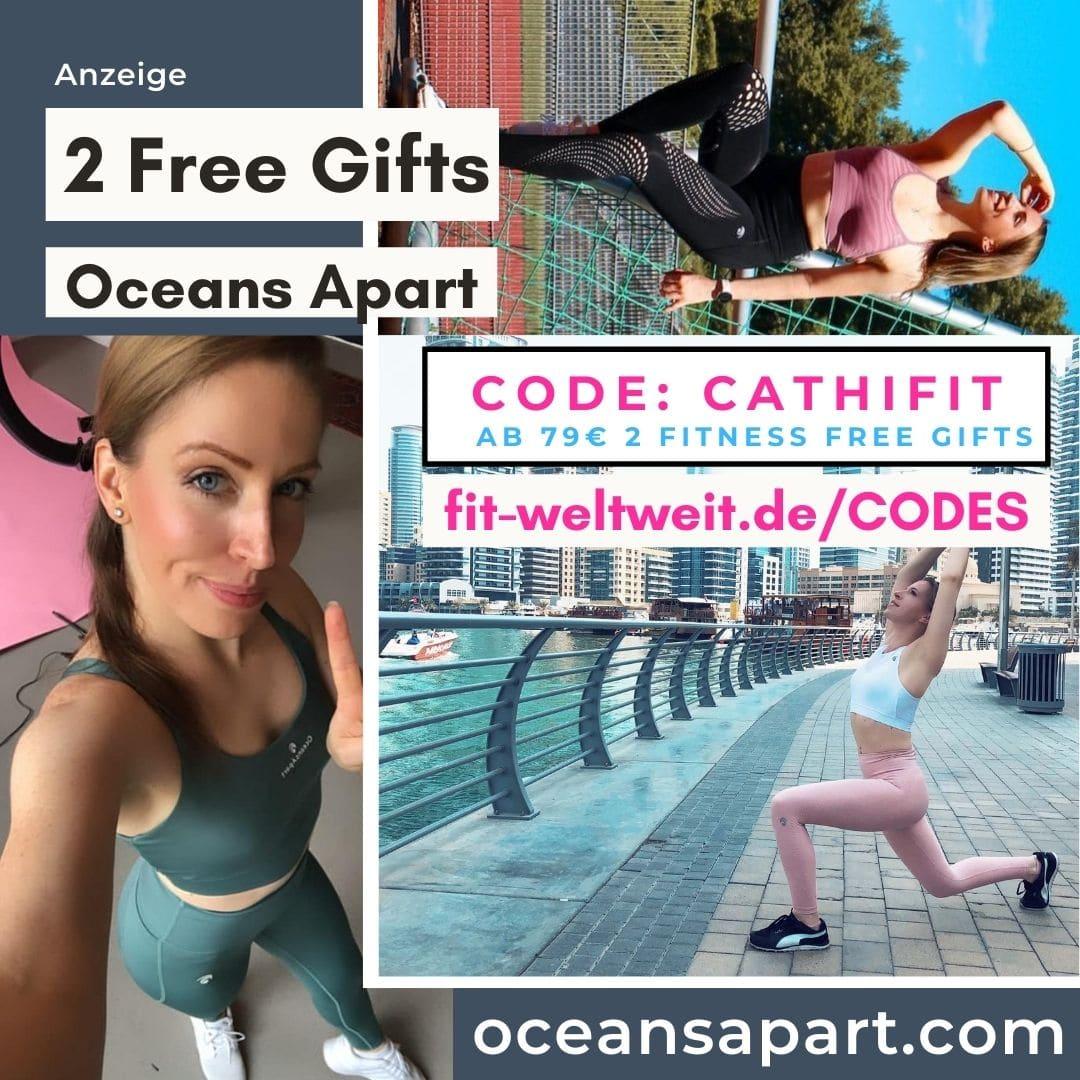 Oceans Apart Code 50% Rabatt 2 free Gifts Fitness Strongrr Trainingspläne 2021