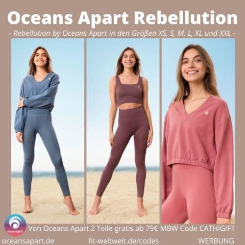 Oceans Apart Rebellution Collection ALEA VIVID JEFFY Deluxe Erfahrungen Pant Bra Sweater Bewertung Größe Stoff
