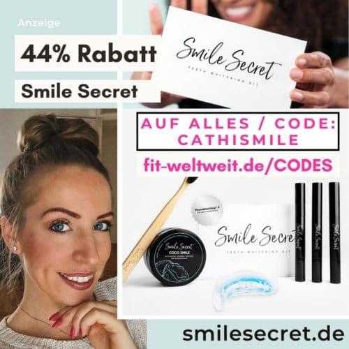 Smile Secret Code 2021 50% Rabatt Gutschein 40% Rabatt 60% + Free Gift