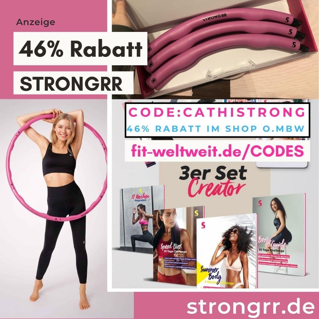 Strongrr Code 2021 Gutschein 40% Rabatt 50%