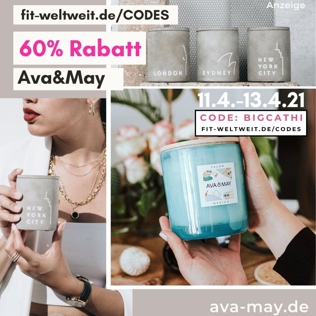 60% Rabatt Ava and May Code Rabattcode