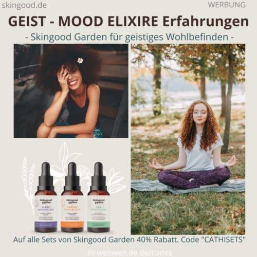 GEIST Elexier SKINGOOD GARDEN Zen Energy Sleep Mood Elixier Erfahrungen Bewertung
