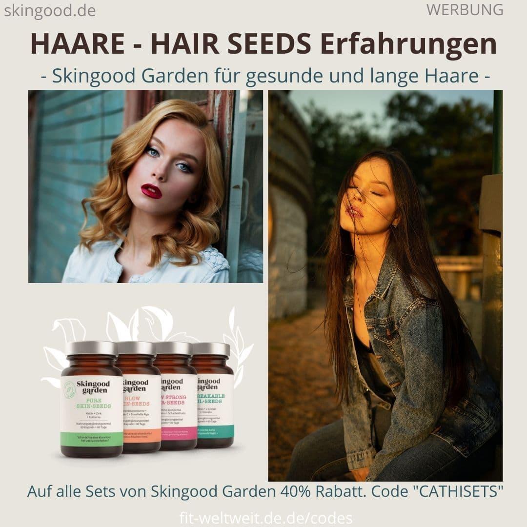 HAARE KAPSELN SKINGOOD GARDEN Hair Seeds Erfahrungen Bewertung