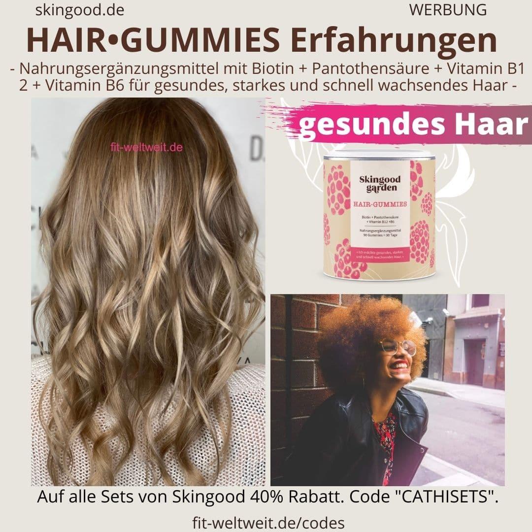 HAIR GUMMIES Skingood Garden Hair Gummies Erfahrungen Vitamingummies