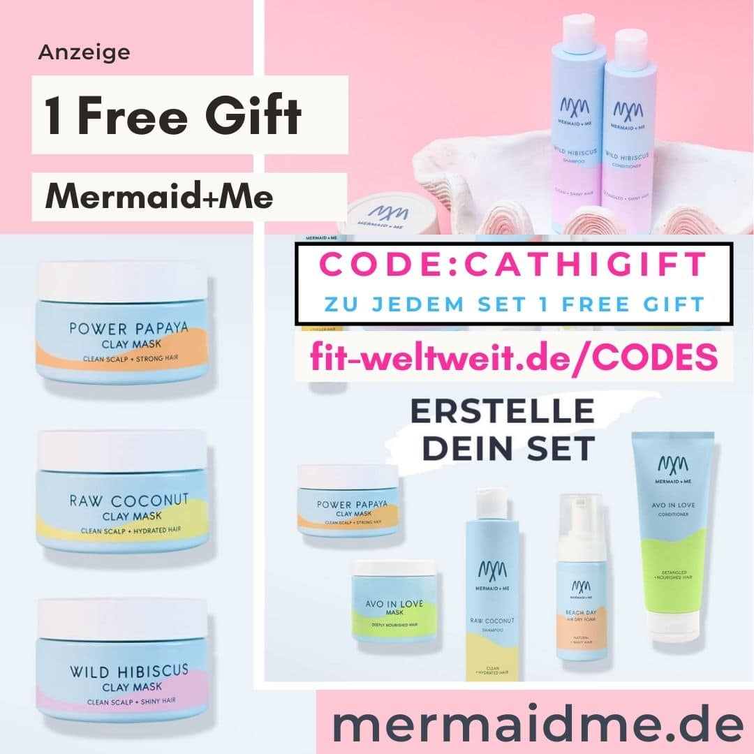 Mermaid and Me Code Februar 2021 1 free Gift bei jedem Set die auch 40% Rabatt haben regulär