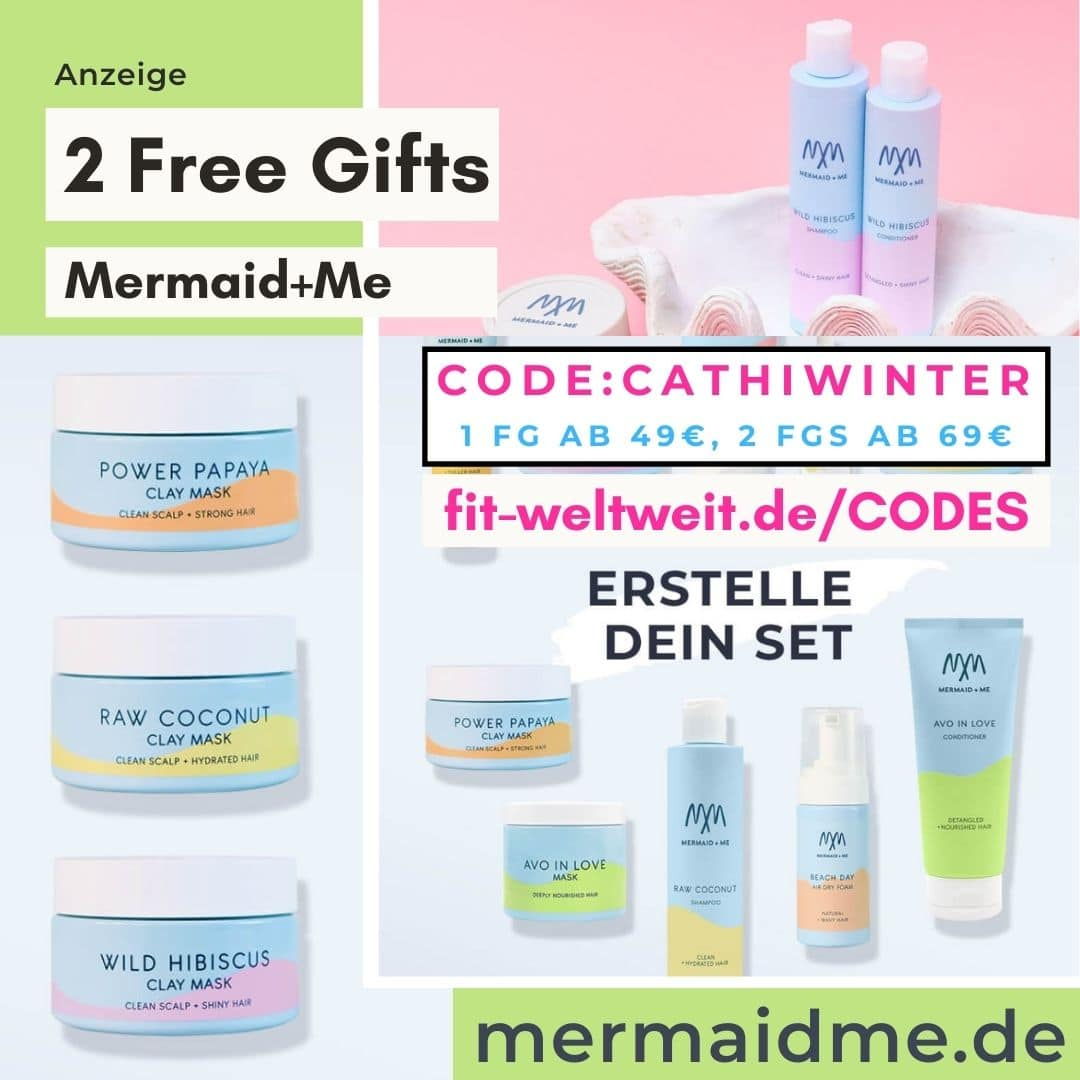 Mermaid and Me Code Februar 2021 2 free Gifts 30% auf alles regulär