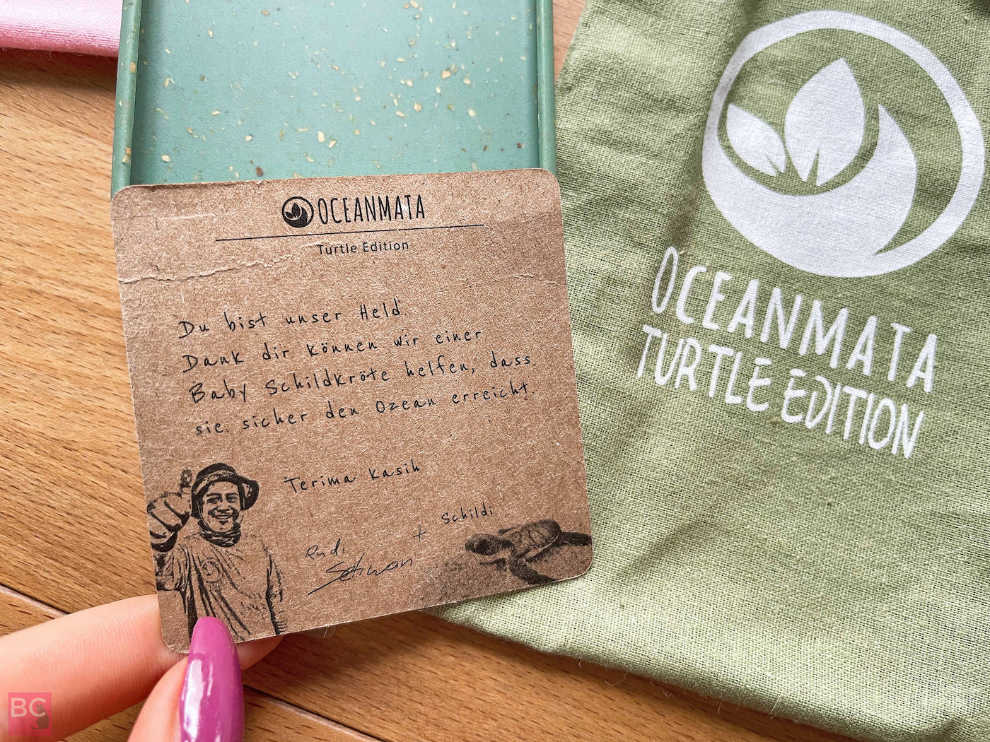 OceanMata Schildkrötenpatenschaft iphone samsung Handhülle Smartphone Case
